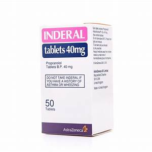 Inderal 40 Mg Tablet