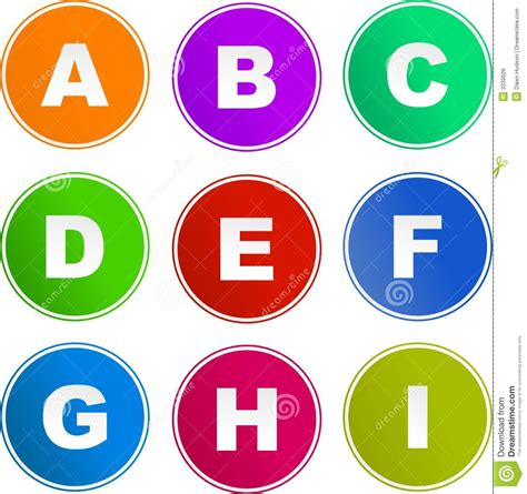 set of alphabet letters and icons for alphabet design alphabet sign icons royalty free stock images image 3339029 39852