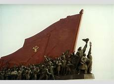 One of those typical communist monuments all people
