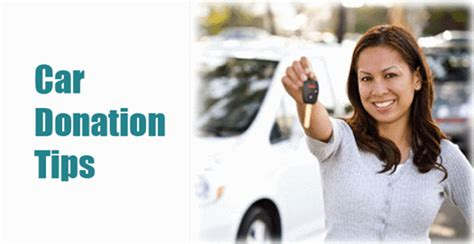 Car Donation Tips by Tips For Donating A Car To Charity