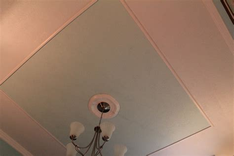How To Make A Tray Ceiling by How To Create A Faux Tray Ceiling And Give Your Room Character