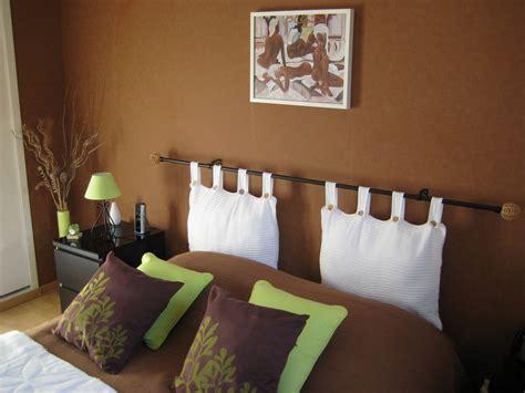 chambre orange et marron déco harmoniser les couleurs moloo fr