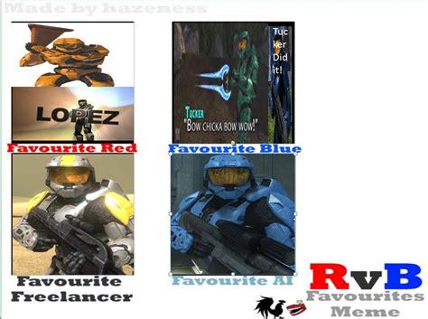 Red Vs Blue Memes - rvb character meme by heroman66475 on deviantart