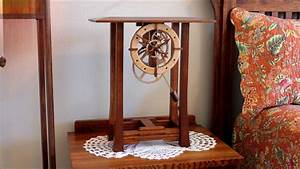 Arts and Crafts Clock by Clayton Boyer - YouTube