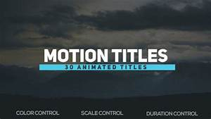 videohive motion titles 18721403 free download free With motion title templates free