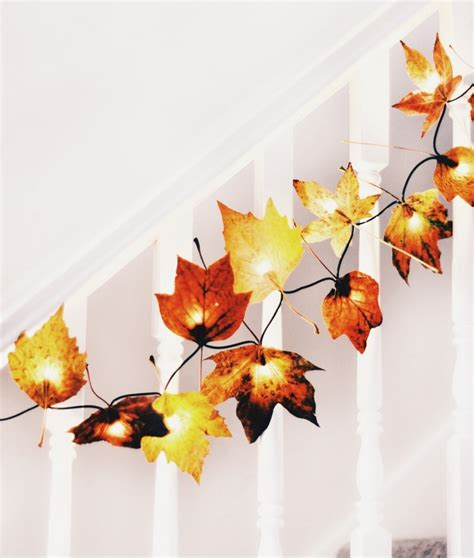 fall leaves decor 10 decorating ideas to make your home cozy for fall