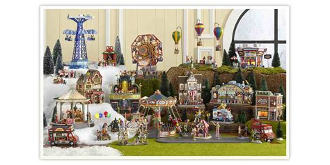 christmas village sets clearance festival collections