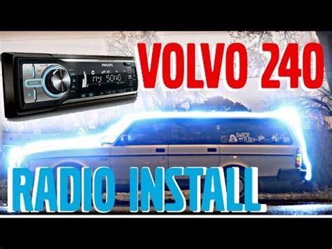 volvo  aftermarket radio installation