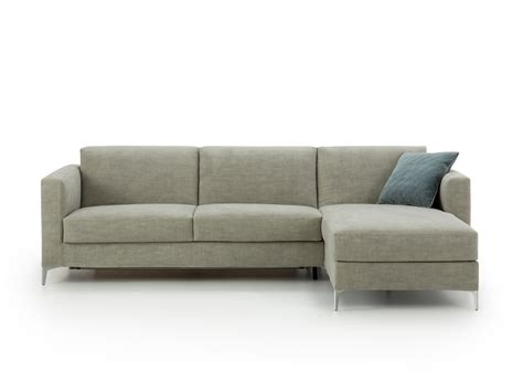 Damian Chaise Sofa Bed With High Feet