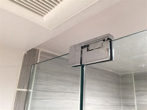 small bathroom frameless shower door installation wayne nj