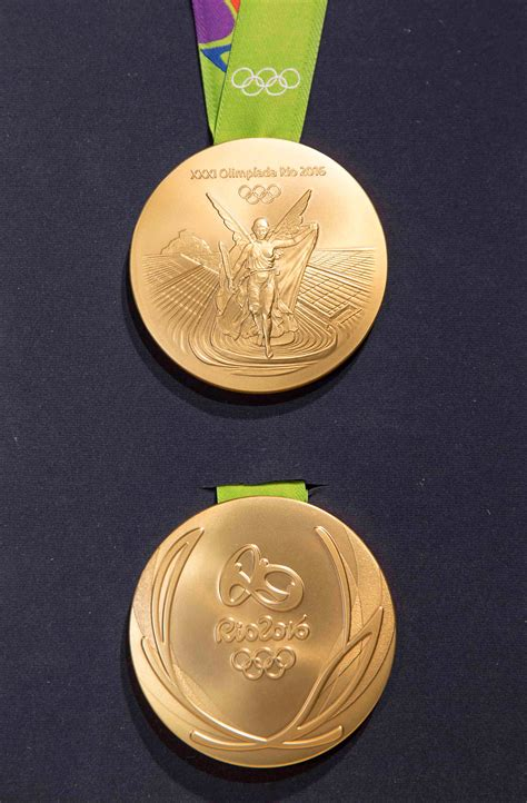 Innovative Medal Design Unveiled For Rio 2019 Olympic News