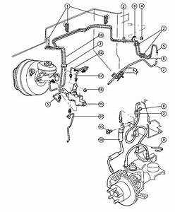 1998 Jeep Cherokee Tube  Brake  Rear  Venezuala  Frontla