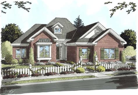 french country ranch house plans home design