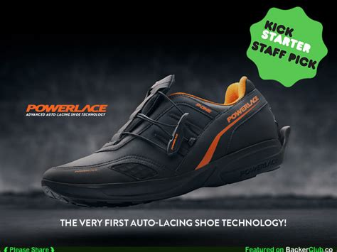 Powerlace Advanced Auto-lacing Shoe Technology's Video Poster