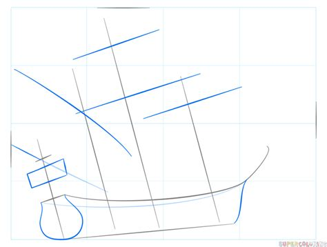 How To Draw A Big Boat Step By Step by Building Galleons 101 1588 Photograph