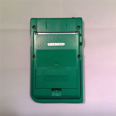 gameboy color green nintendo gameboy pocket console green retroplayers