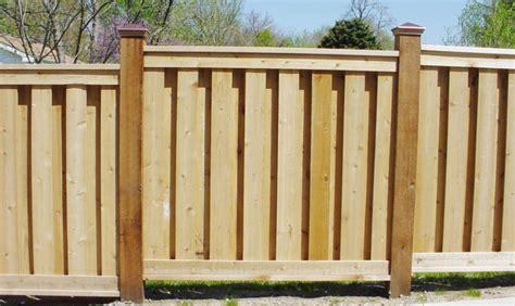 lowes custom shadow box fence price peiranos fences shadow box