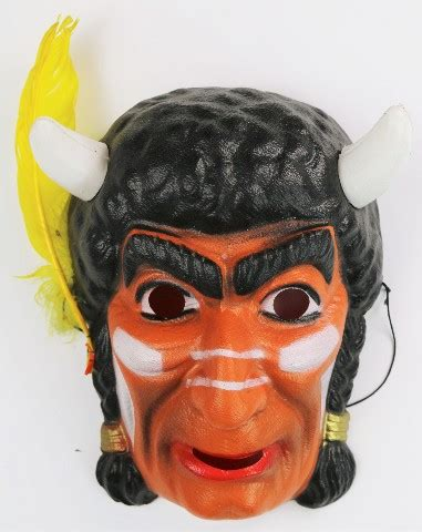 vintage indian chief halloween mask cesar