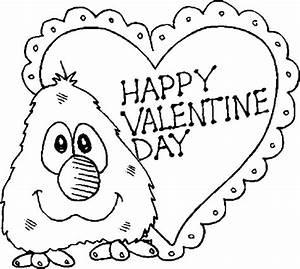 Valentinehappyday - Free Colouring Pages