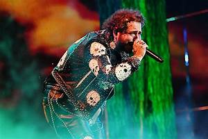 Post Malone Worries Fans After Breaking Down On Stage Rap Up