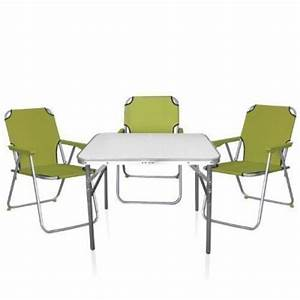 Table Et Chaise Camping : acheter table pliante camping pas cher ~ Nature-et-papiers.com Idées de Décoration