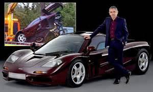 rowan atkinson  selling  mclaren   million