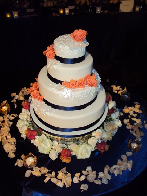 Mimi To You Sweet And Stylish Cakes Navy And Peach