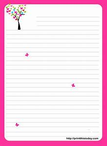 love letter pad stationery With letter writing paper