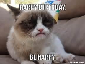 happy birthday cat meme happy birthday meme cat litle pups