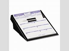 FlipAWeek Desk Calendar Refill by ATAGLANCE