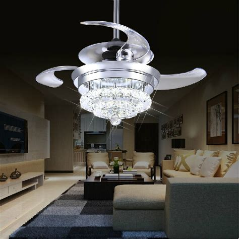 living room ceiling light fan crystal fan lights 100 240v invisible ceiling fans modern