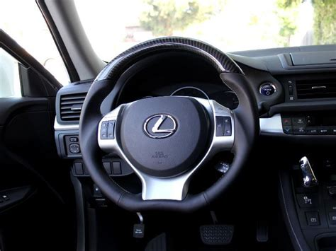lexus steering wheel 2011 2013 lexus ct200h carbon fiber steering wheel club
