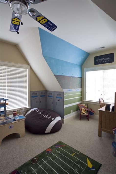 Sports Corner In The Boys Room by Cozy Boy S Room Corners Kidspace Interiors Nauvoo Il