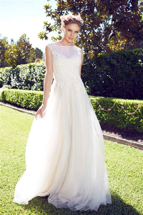 garden wedding dresses for the and weddbook