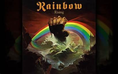 Album Covers Wallpapers Rock Rainbow Desktop Rising