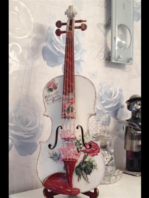 17 best about violin diy crafts on shabby chic violin and galleries