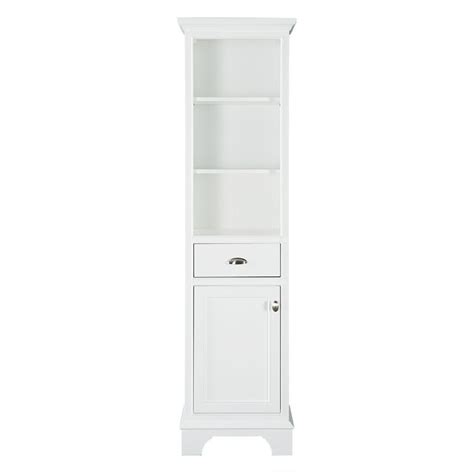 home depot bathroom floor cabinets home decorators collection hayward 18 in w x 67 1 2 in h