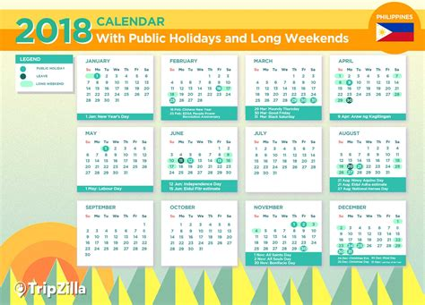 happy   year calendars  philippines holidays