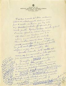 important fidel castro autograph letter to nikita With pictures with letters in them