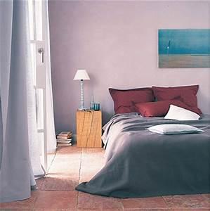 Chambre Parentale Cosy : couleurs de chambre cosy en brun taupe et rouge leroy merlin ~ Melissatoandfro.com Idées de Décoration