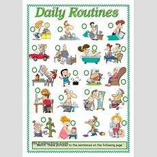 Daily Routines Worksheet  Free Esl Printable Worksheets Made By Teachers  English Worksheets