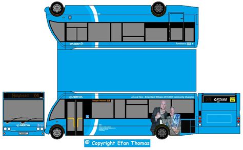 arriva buses wales optare solo cx bgz  paper bus net