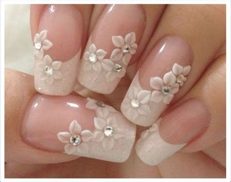27 Beautiful Wedding Nail Art Design Ideas For Your
