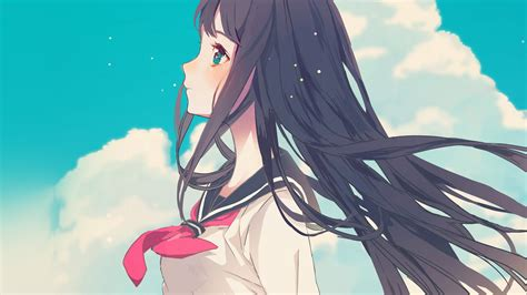 Anime Illustration Wallpaper - ar10 illustration anime sky wallpaper