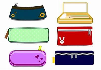 Pencil Case Vector Clipart Cases Box Clip