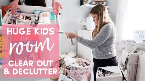 Huge Kids Room Organise And Declutter With Me Youtube