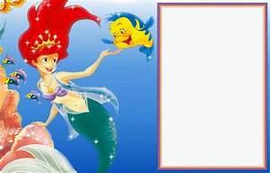 21 Birthday Invitations Free Little Mermaid Free Printable Invitation Templates