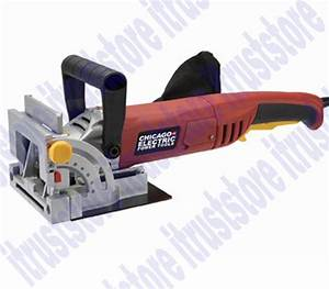 Heavy Duty Wood Bisquit Plate Jointer Power Miter T Butt