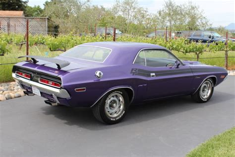 Plum Purple Challenger by Seller Of Classic Cars 1971 Dodge Challenger Plum
