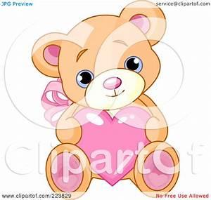 Bear And Heart Clipart (72+)